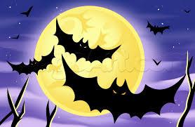 how to draw a halloween moon step by step halloween seasonal