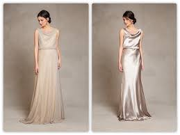 metallic gold bridesmaid dresses what we re loving yoo metallic bridesmaid dresses