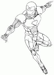 superhero iron man coloring pages printable toddler 22931