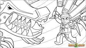 lego ninjago coloring pages lloyd colouring cole free printable