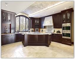 Kitchen Floor Design Ideas Tiles Dark Kitchen Cabinets With Tile Floor U2013 Quicua Com