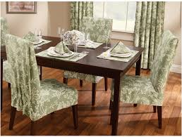 Patterned Slipcovers For Chairs Popular Of Patterned Dining Room Chair Covers With Modern