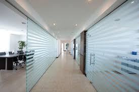 office partitions frameless glass partitions