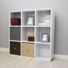 White Cube Bookcase Modern White Cube Storage Shelves Creating Cube Storage Shelves