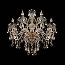 Elegant Crystal Chandelier Fashion Style Chandeliers Large 31 In Wide Crystal Lights