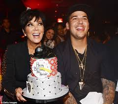 chubby rob kardashian ditches the diet to party for his 26th
