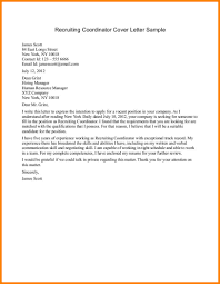 recruiting cover letter 28 images recruiting cover letter