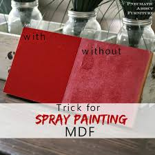 how do i get a smooth finish on kitchen cabinets trick for spray painting mdf spray paint furniture spray