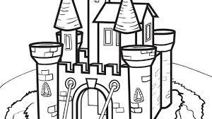Princess Series Castle Grandparents Com Coloring Pages Castles