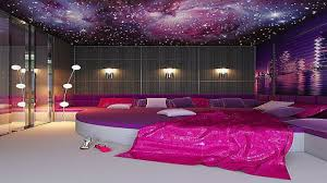 cool deep purple bedroom in small home remodel ideas with deep