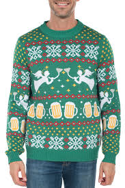 men u0027s ugly christmas sweaters tipsy elves
