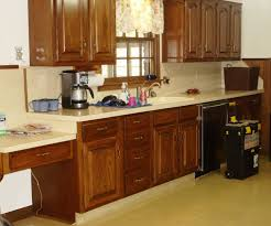 How To Paint Old Wood Kitchen Cabinets Painting Old Kitchen Cabinets Before And After U2013 Home Improvement