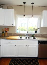 how many pendant lights over kitchen sink mini hanging above