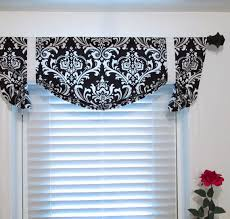 Blue Valance Curtains Extraordinary Black And White Valance Curtains 53 In Ikea Panel