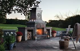 Outdoor Fire Places by Outdoor Fireplaces
