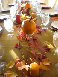 simple thanksgiving table decorations idea also make ahead