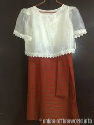 kimona dress kimona a philippine traditional clothing philippines