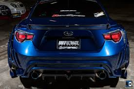custom subaru brz wide body tom u0027s led tail light us spec brz frs u2013 clear lens u2013 ravspec