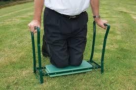 Garden Kneeler Bench Folding Garden Kneeler Seat Bench Gardening Aid Help Reduce Back