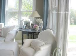 pretty paint colors white ironstone cottage