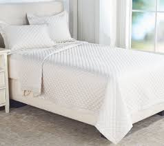 Skirted Coverlet Northern Nights 400tc Super Soft Cotton Kg Diamond Stitch Coverlet