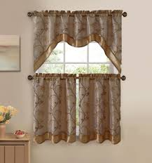 Make Kitchen Curtains by How Can You Make Your Own Kitchen Curtain Sets Home Decor