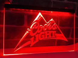 coors light bar sign coors light beer bar sign with lights decoration for bar light