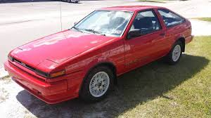 toyota corolla gt coupe ae86 for sale bone stock 58k mile 1986 toyota corolla gt s bring a trailer