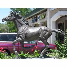 bronze running horse sculpture bronze running horse sculpture