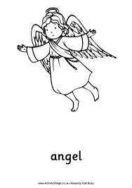 coloring page angel visits joseph coloring pages of angels coloring pages angel visits mary