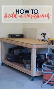 Plans For Making A Wooden Workbench by 49 Free Diy Workbench Plans U0026 Ideas To Kickstart Your Woodworking