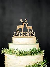 personalized cake topper deer wedding cake topper mr mrs personalized cake