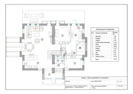 Floor Plan Of The House Finished Houses In Latvia For The Best Available Prices