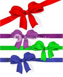 ribbon and bows ribbons and bows celebration gift vector design elements set