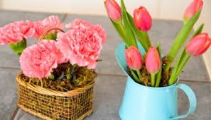 Send Flowers Cheap Think Outside The Vase Cheap Or Free Flower Containers