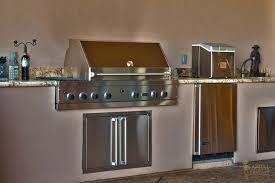 Kitchen Sinks Sacramento - outdoor kitchen bar b cue grill sink fridge greater sacramento
