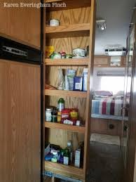 kitchen storage cabinets narrow 5 rv pantry cabinet problems solutions rv inspiration