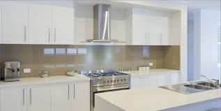 ideas for kitchen splashbacks white kitchen with glass splashback kitchen home kitchen design