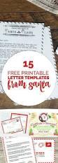 Printable Santa List Templates Best 25 Free Printable Santa Letters Ideas On Pinterest Santa