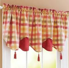 Country Style Kitchen Curtains And Valances Country Style Kitchen Curtains Interest Way To Extend Country