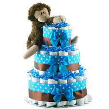 cake gift baskets cakes for boys boy blue baby cake