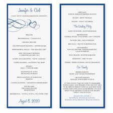 wedding programs template free instantly and print these designer wedding program