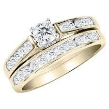Gold Diamond Wedding Rings by Wedding Rings White Gold Bridal Rings Ring Sets Engagement