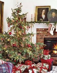 fashioned decorated trees wall decorating ideas living
