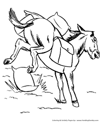 farm animals coloring page farm animal coloring pages printable pack mule coloring page and