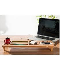 Bamboo Desk Organizer Diy Bamboo Wooden Keyboard Desk Organizer Recta Tech