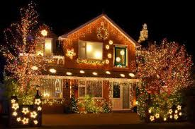 Solar Powered Tree Lights - garden in front yard solar powered christmas lights outdoor