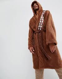 robe de chambre wars robes robe de chambre motif chewbacca de wars