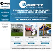 Do It Yourself Awnings Do It Yourself Awnings Waagmeester Canvas Products