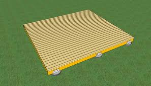 Home Depot Deck Design Pre Planner by Freestanding Wood Deck How To Build A Deck On The Ground